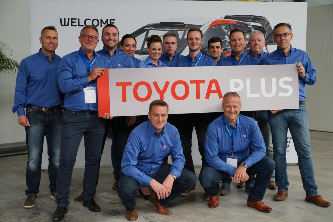 Toyota Plus, een nieuw Europees label voor tweedehandswagens van Toyota, wordt gelanceerd in België