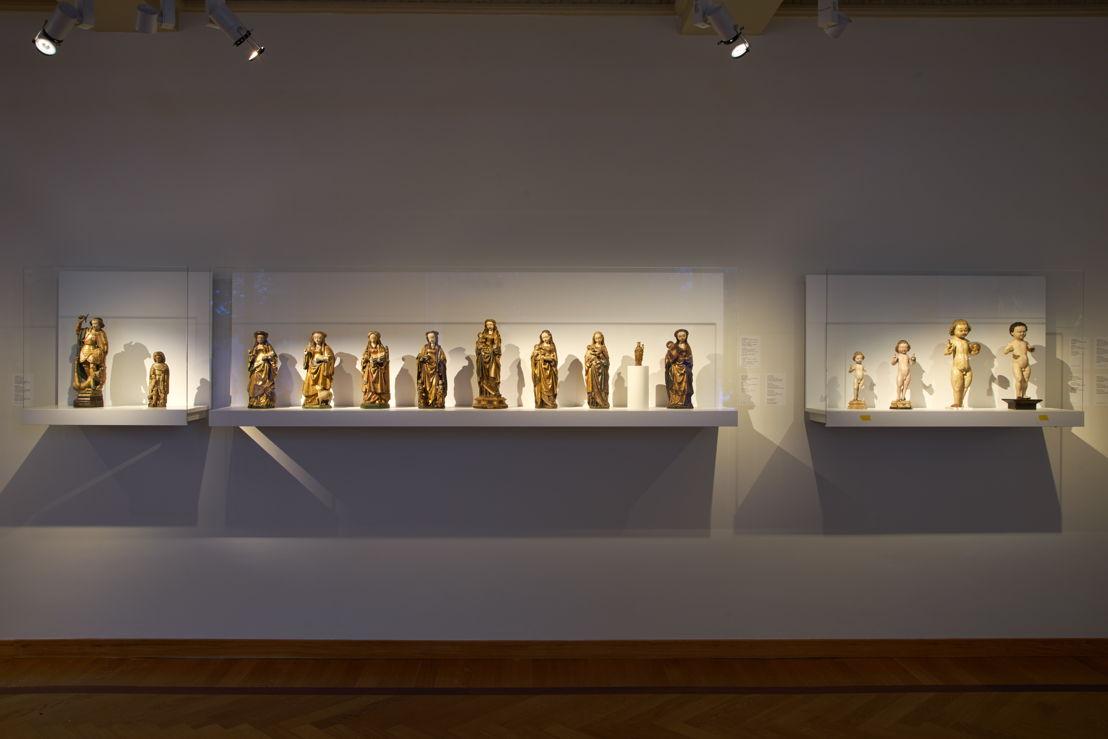 Vue de la salle &#039;Focus sur le Brabant : Malines&#039; avec les poupées de Malines<br/>Photo (c) Dirk Pauwels