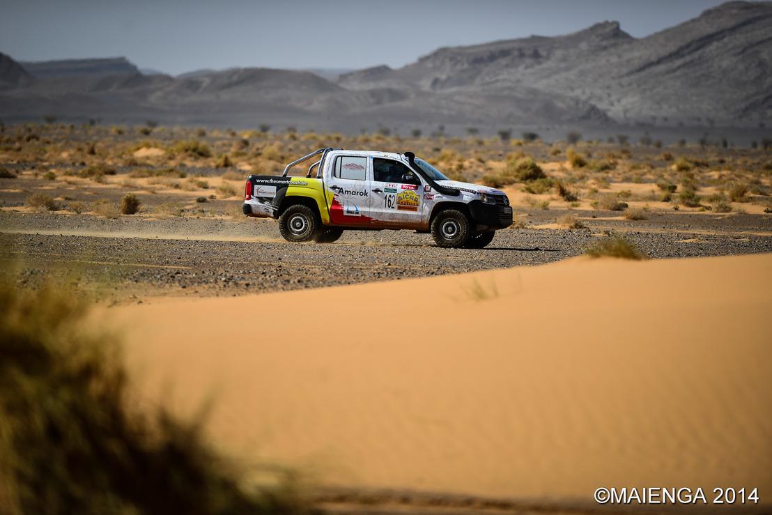 Volkwagen Commercial Vehicles in de Rallye Aïcha des Gazelles