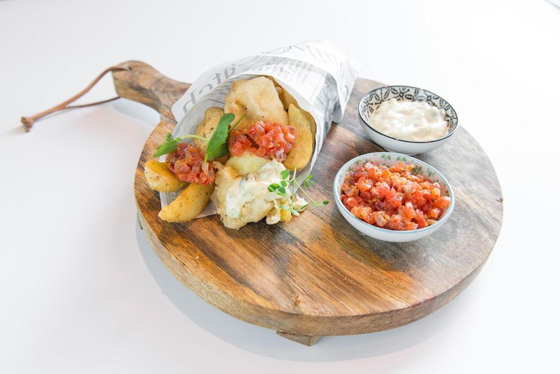 Le Bassin - Fish & Chips 'De Luxe' - koolvis