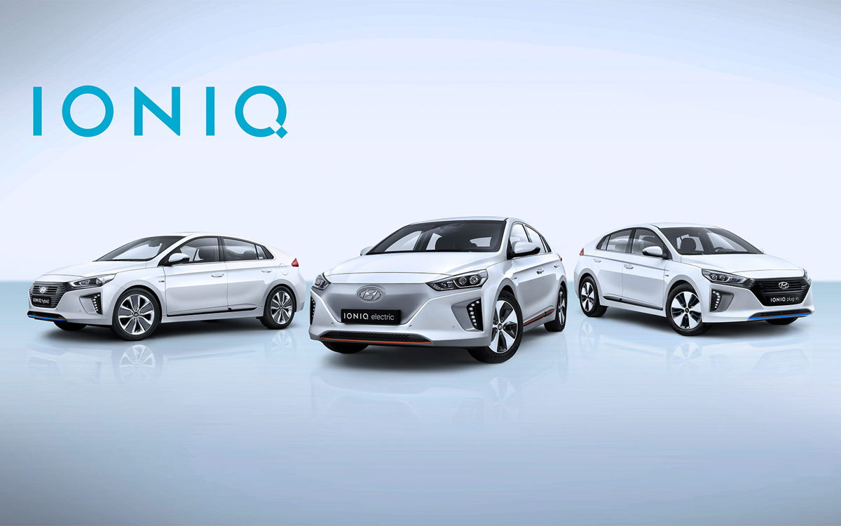 Hyundai IONIQ Line-up