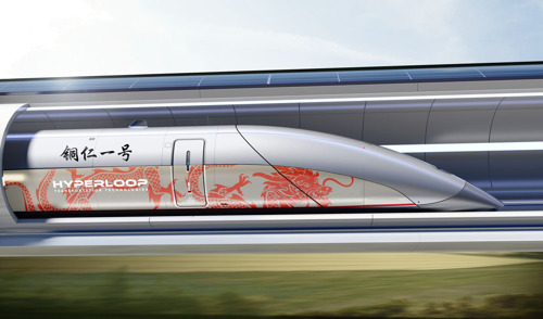 Hyperloop Transportation Technologies construirá primeiro sistema Hyperloop da China