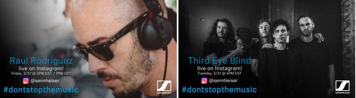 #DontStopTheMusic: Third Eye Blind, Citizen, Bob Sinclar and The Talbott Brothers