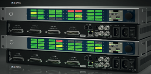 Solutions for Modern Productions: RME Debuts New M-32 Pro AVB Series of Converters to Meet the Needs of Today's Professionals