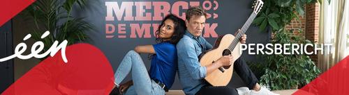 'Merci voor de muziek': Bart Peeters en Nora Gharib verrassen Vlamingen met muziek