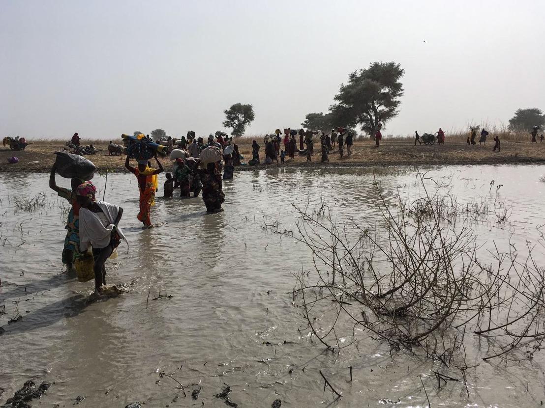 Nigeria: Tausende fliehen nach Angriff auf die Stadt Rann nach Kamerun