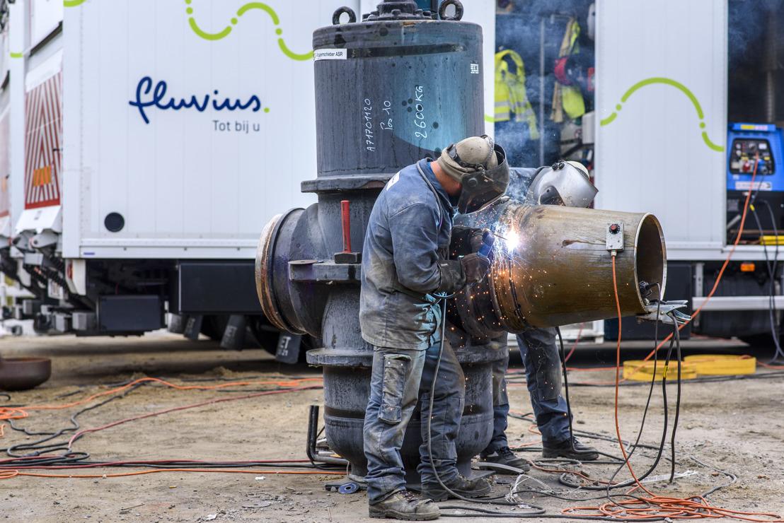 Fluvius vernieuwt belangrijke aardgastoevoer voor Gent-Centrum