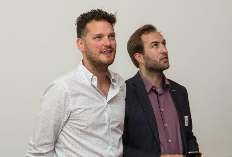 Orry met 'compagnon de route' Jan Braeckmans