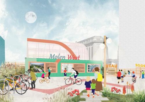 Molenbeek : un permis d'urbanisme pour l'occupation temporaire de la Gare de l'ouest
