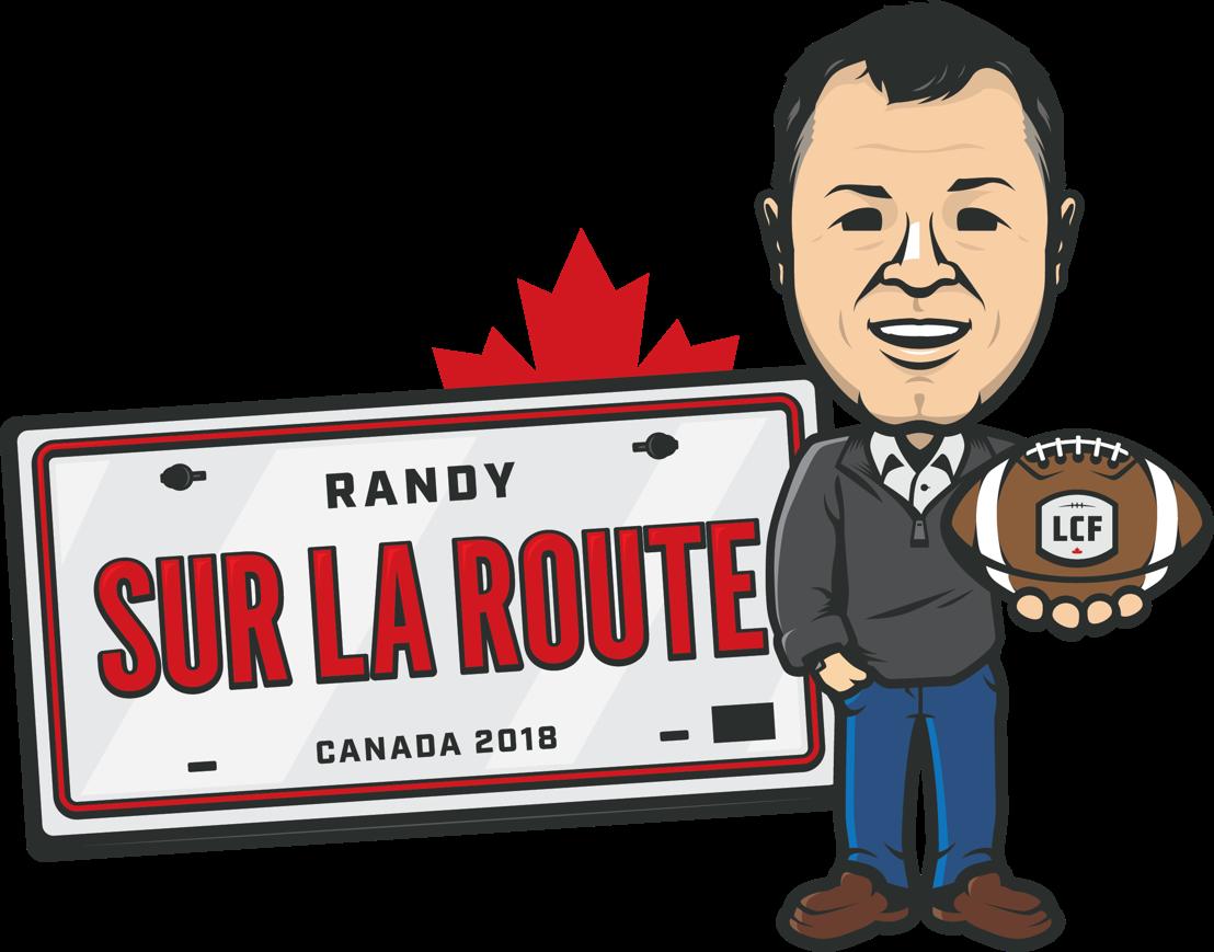Logo de la tournée « Randy sur la route »