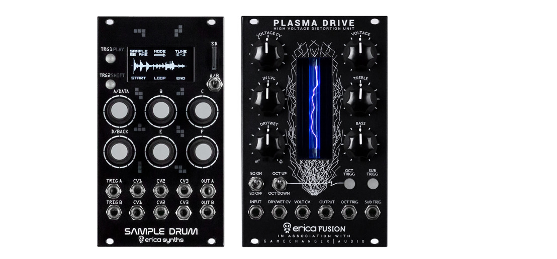 Erica Synths Announces Availability of Sample Drum and Plasma Drive
