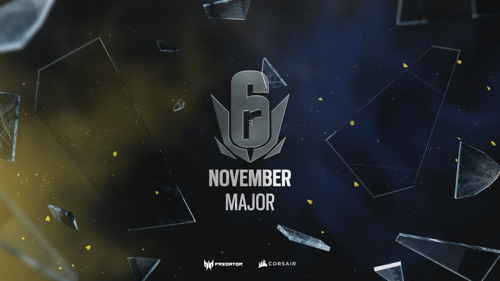 DAS EUROPEAN NOVEMBER SIX MAJOR STARTET AM 6. NOVEMBER