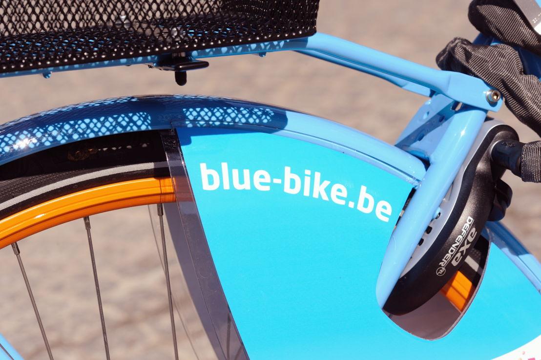 Een fiets van Blue-bike. (Credit: NMBS)