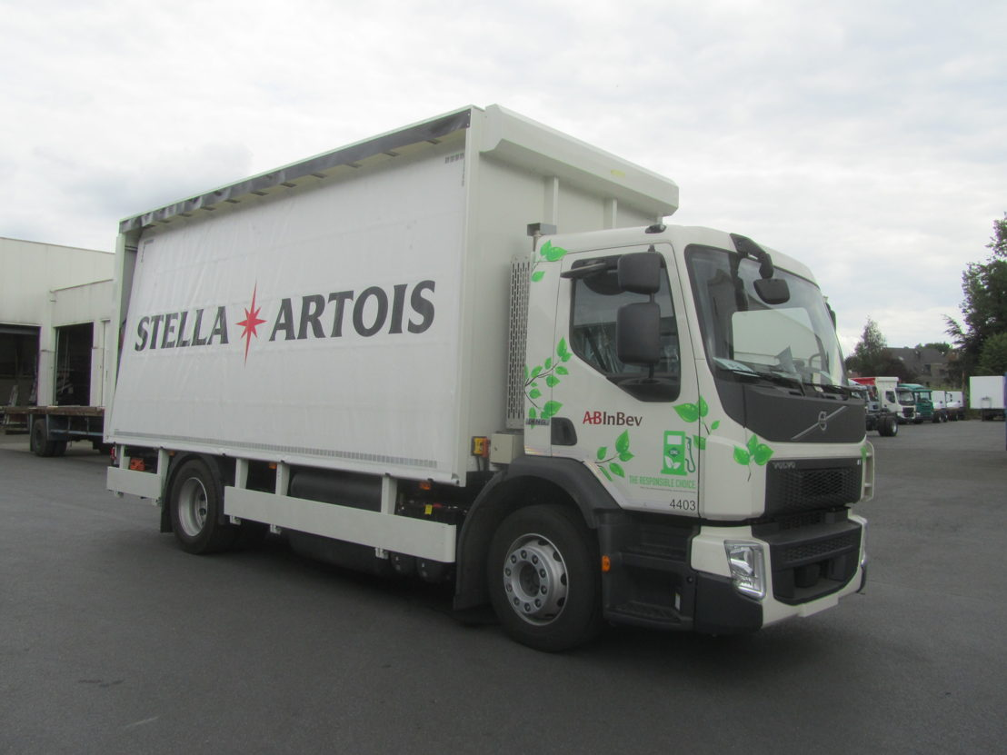 CNG Truck - Side