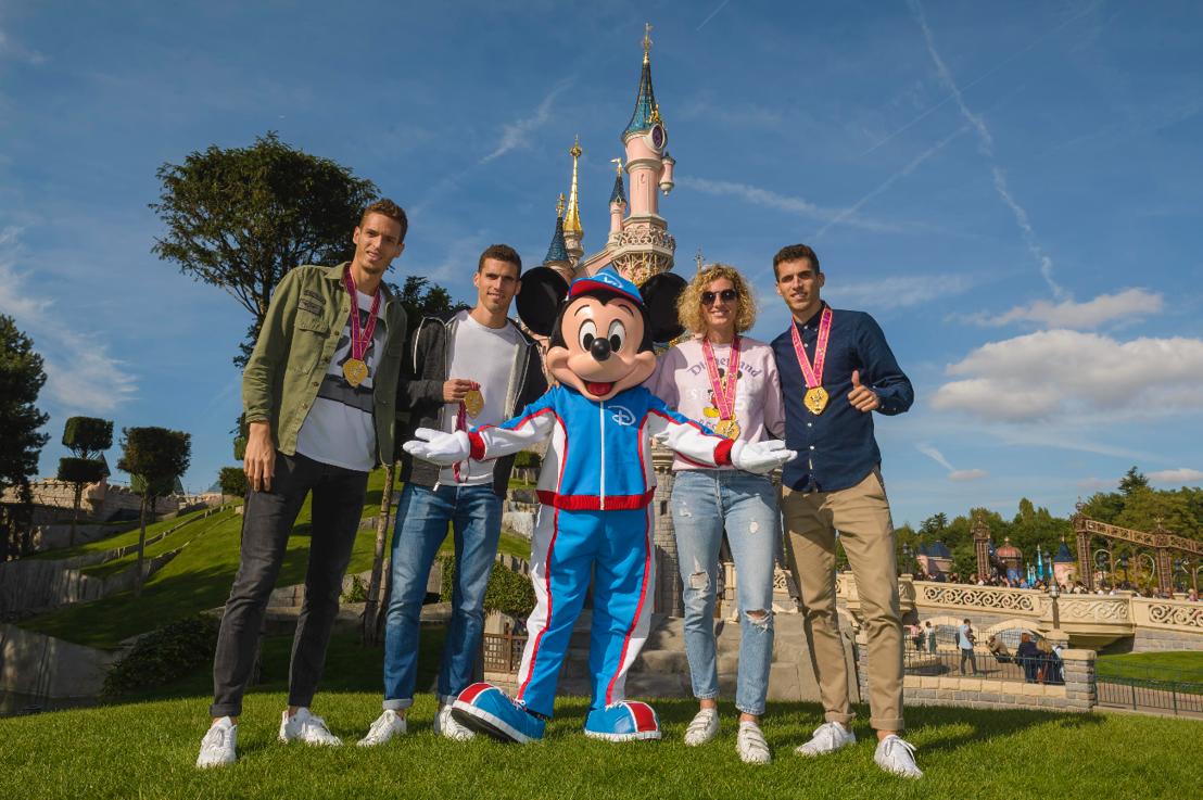 Meer dan 20.000 hardlopers tijdens het Disneyland® Paris Magic Run Weekend!