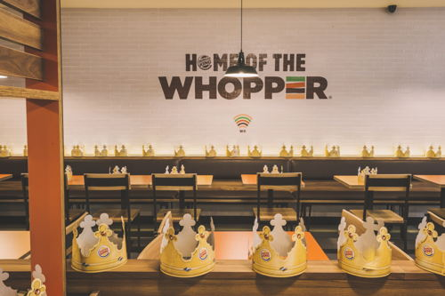 Preview: BURGER KING® aupent in 't etteke Brussel