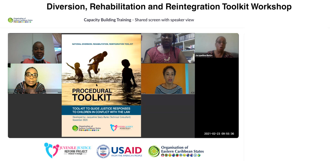 Standards, Policy and Implementation guiding Diversion, Rehabilitation and Reintegration of Youth in the Justice System improved through Toolkit