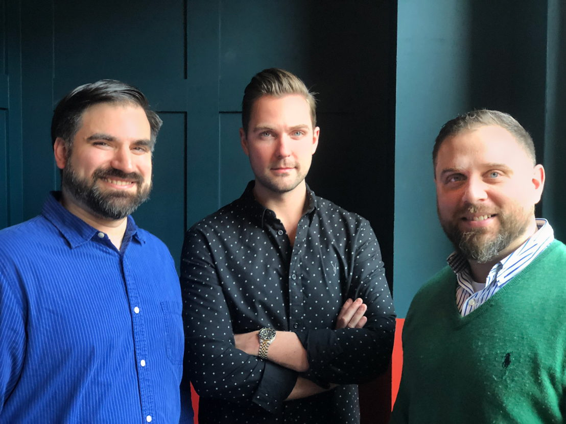 Jim de la Bastide, Olivier Deneef, et Joe Donofrio