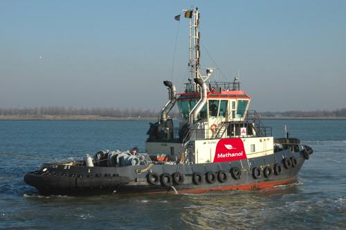Weltpremiere für den Hafen von Antwerpen: Schlepper mit Methanolantrieb