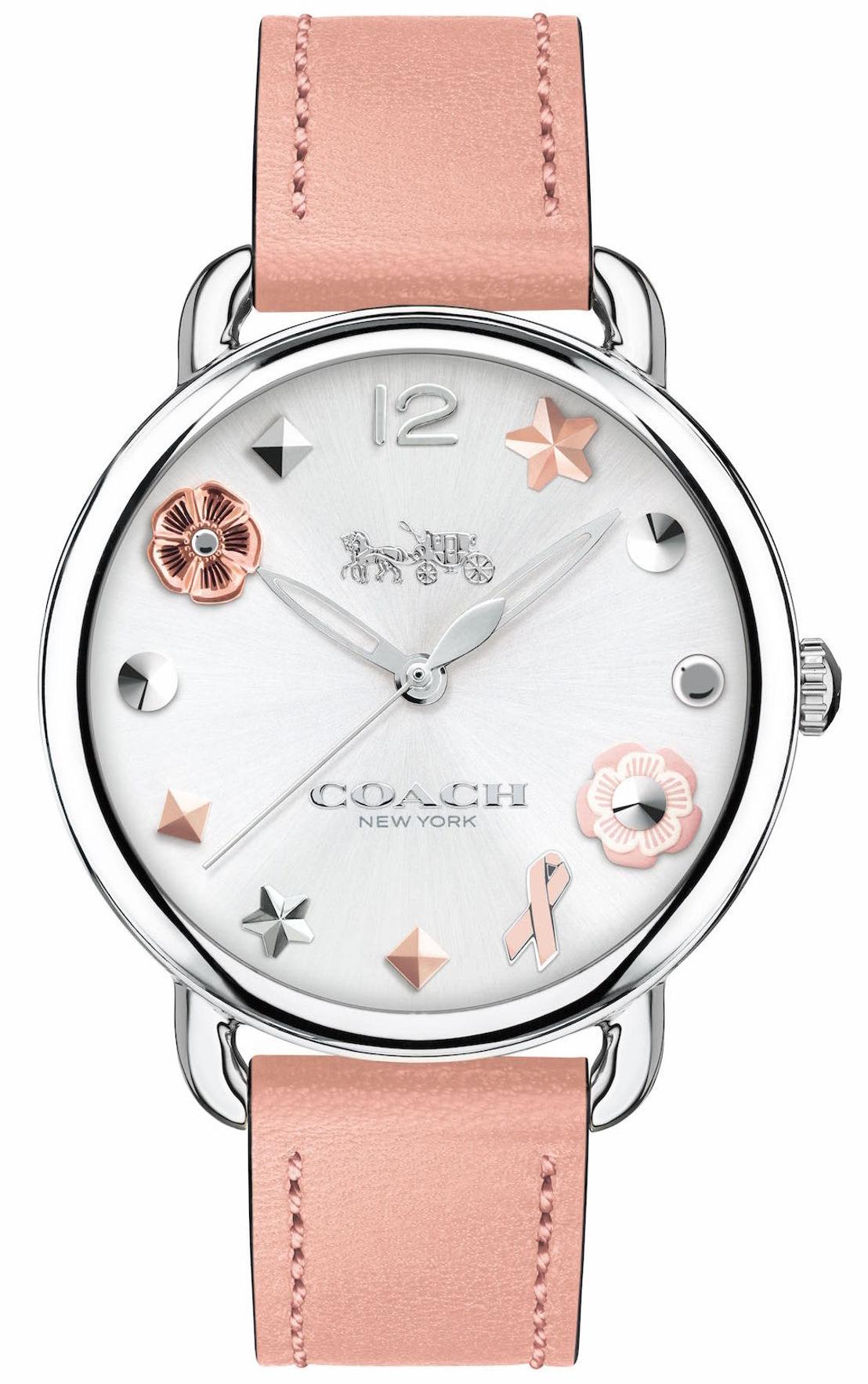 Delancey by Coach, un reloj con causa