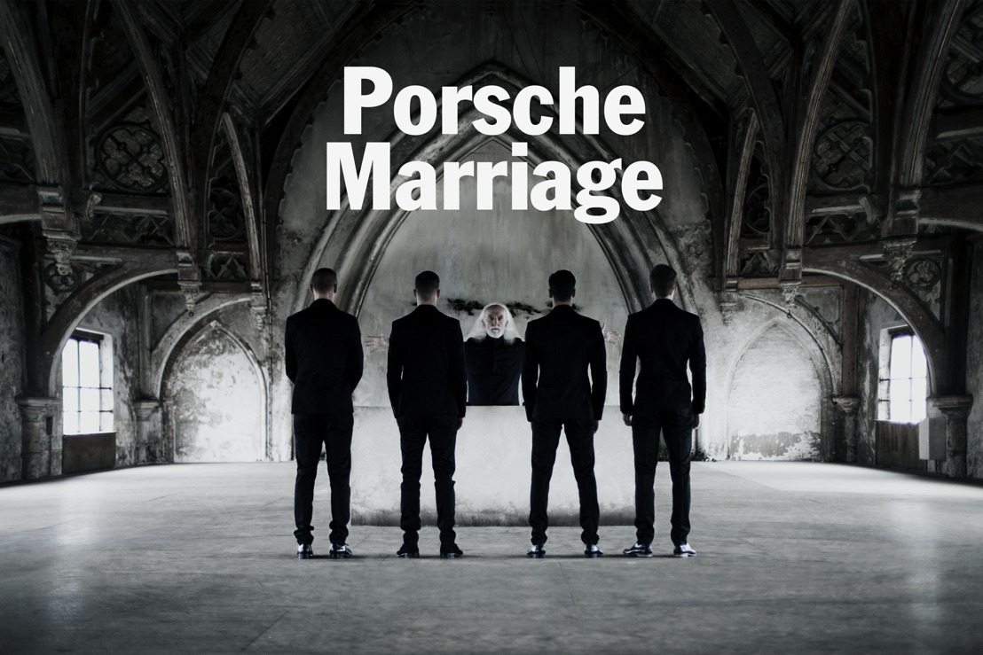 Porsche organises polygamous marriage for the launch of Share a Porsche