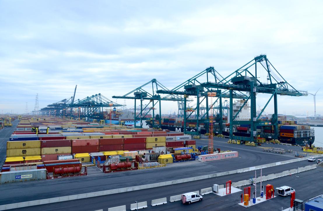 Reactie Port of Antwerp op beslissing Vlaamse Regering over extra containercapaciteit