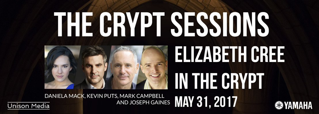 The Crypt Sessions presents Elizabeth Cree in the Crypt, May 31 2017, with composer Kevin Puts, librettist Mark Campbell, mezzo-soprano Daniela Mack and tenor Joseph Gaines