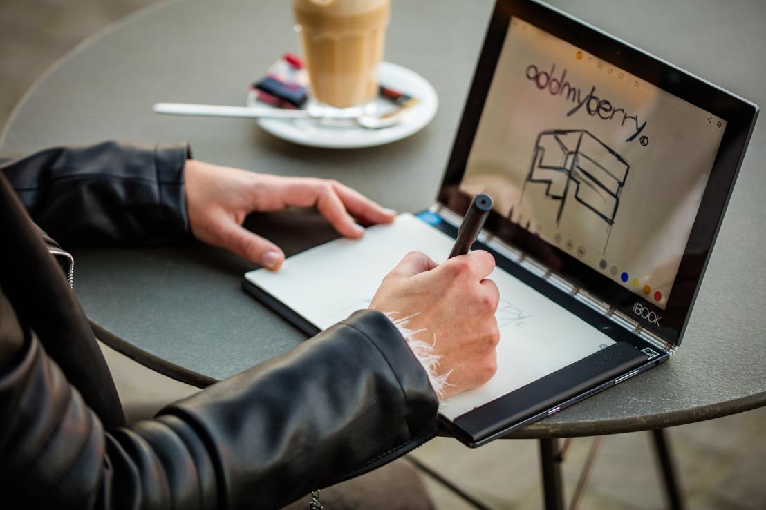 Lenovo en addmyberry slaan de handen in elkaar voor het goede doel