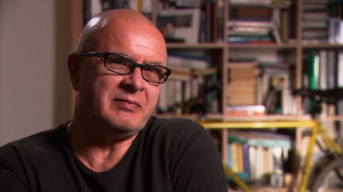 Former cyclist, now invalid pensioner Uwe Troemer