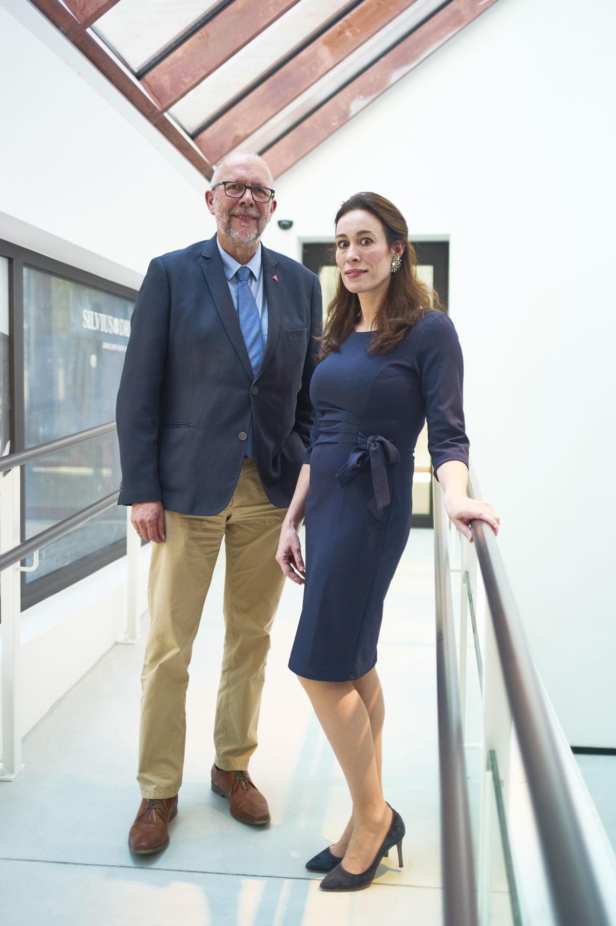 Luk Lemmens and Eva Olde Monnikhof (c) Jeroen Hanselaer