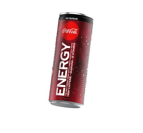Coca-Cola annonce le lancement de Coca-Cola Energy