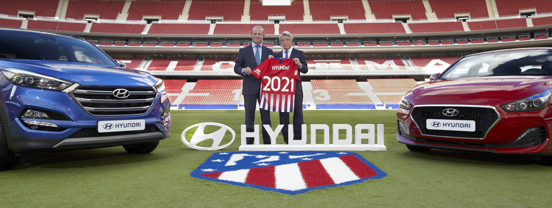 Hyundai Motor becomes Global Automotive Partner of Club Atlético de Madrid in new multi-year agreement