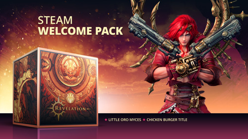 REVELATION ONLINE AVAILABLE ON STEAM