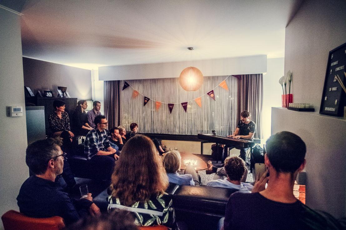 Le concert de l'artist Gantois Sioen.