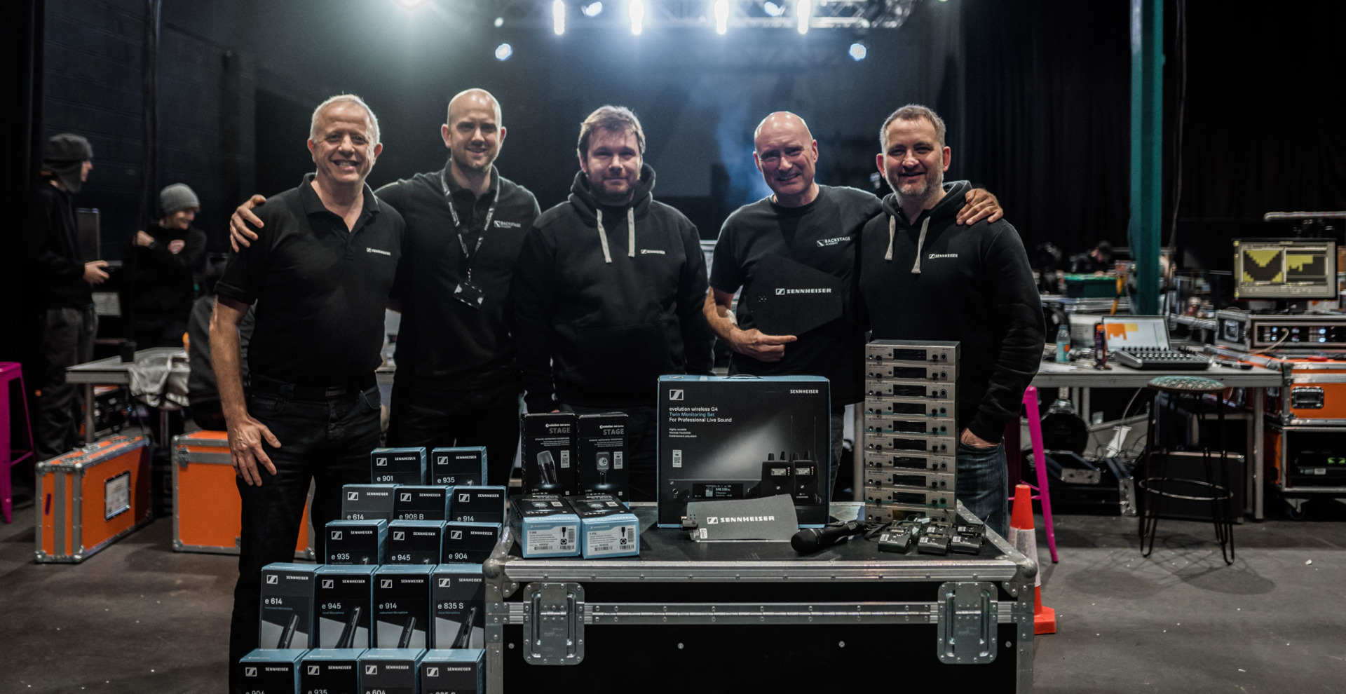 Sennheiser supports sound industry's future talent with backstage academy