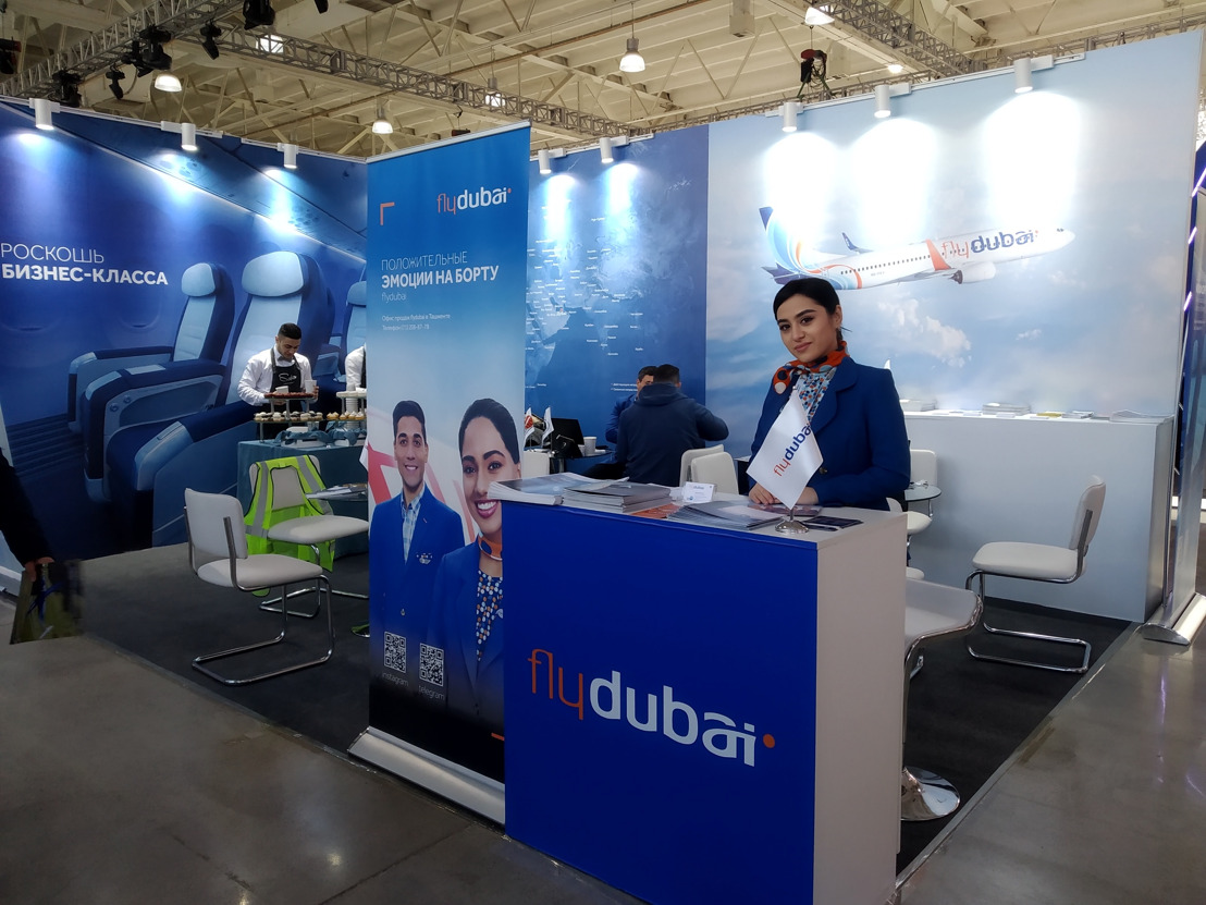 flydubai marks the first anniversary of its flights from Dubai to Tashkent by participating in Aviation Airports Logistics Forum
