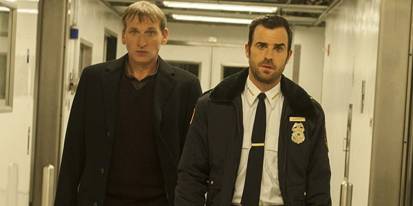 The Leftovers - Christopher Eccleston en Justin Theroux - (c) HBO