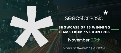 These are the 15 Startups from 15 Countries Selected to Participate at the Seedstars Asia Summit