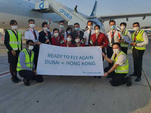 Cathay Pacific Extends Dubai-Hong Kong Flights