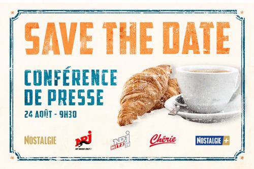 Save The Date - Le 24 août à 9h30