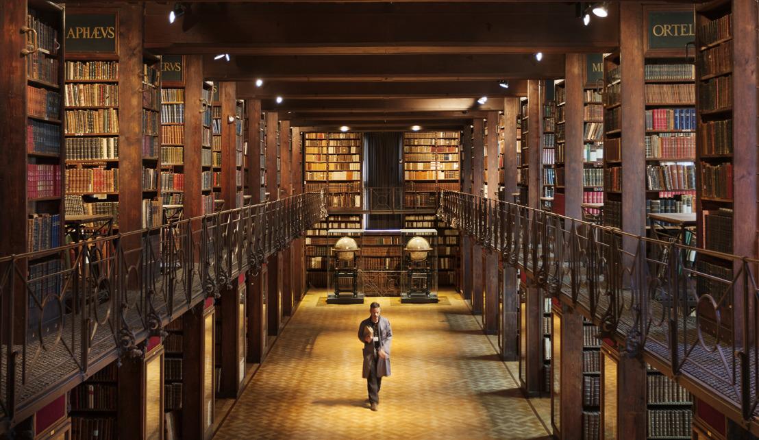 Erfgoedbibliotheek Hendrik Conscience stelt deze zomer de magische Nottebohmzaal uitzonderlijk open