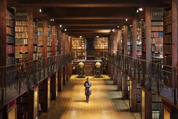 Preview: Erfgoedbibliotheek Hendrik Conscience stelt deze zomer de magische Nottebohmzaal uitzonderlijk open