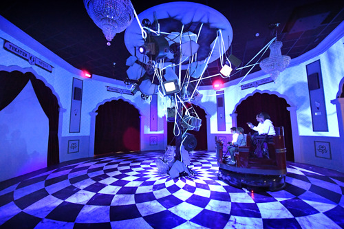 Painting with Light boosts visual & sensory experiences at interactive dark rides