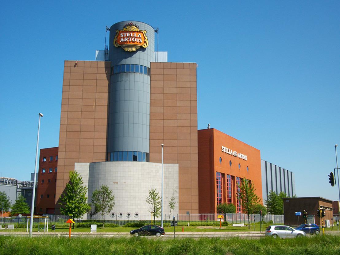 La brasserie Stella Artois partage son toit avec les habitants de Louvain