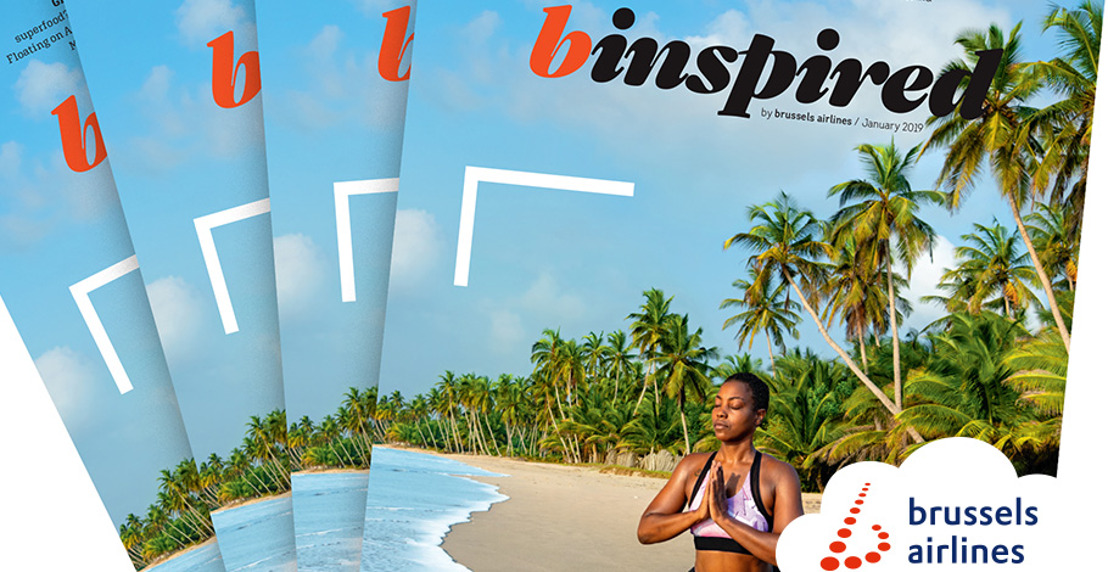 "Brussels Airlines revoit le design de son magazine de bord ""b.inspired"""