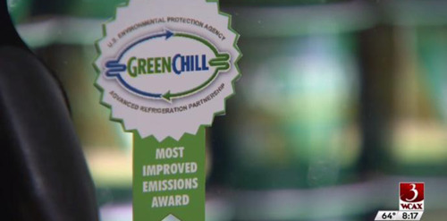 #WCAX-TV Coverage of Our National Green Chill Award