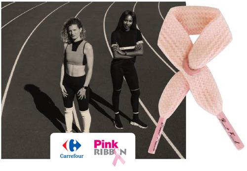 Voor het zesde jaar op rij steunt Carrefour Pink Ribbon