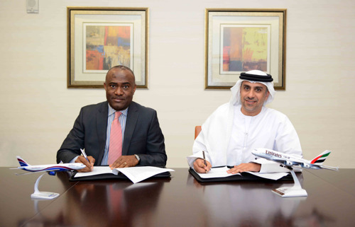 Emirates and Arik Air Sign Memorandum of Understanding