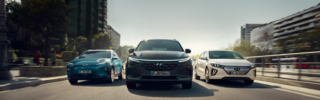 Hyundai op het Salon van Brussel 2020