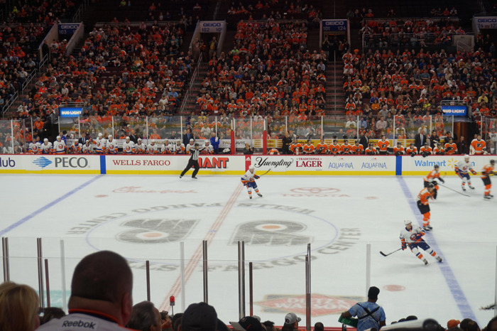 Sponsorship agreement with Philadelphia Flyers signed